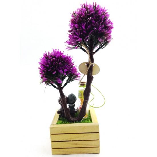 Sevgi Bahçesinde Dilek Tutan Aşıklar Model 1
