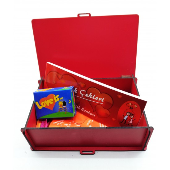 Sevgiliye Aşk Kutusu Model 1