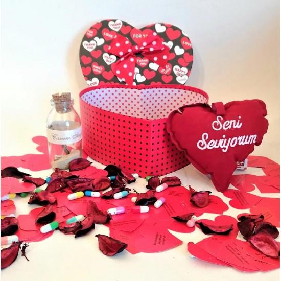 Sevgiliye Özel Hediye Seti Paketi