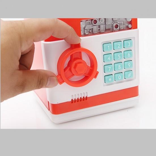 Şifreli Kumbara (Kırmızı)