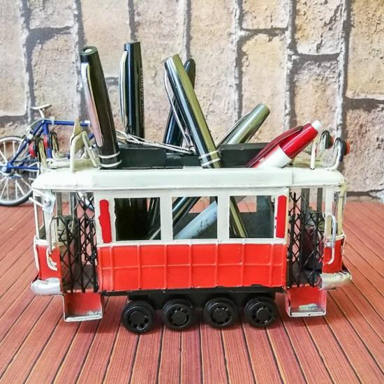 Taksim Nostaljik Tramvay Şeklinde Kalemlik