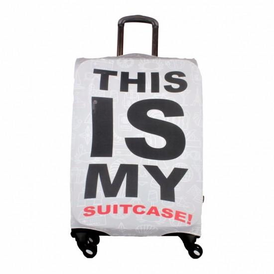 Thıs Is Temalı My Luggage Valiz Kılıfı