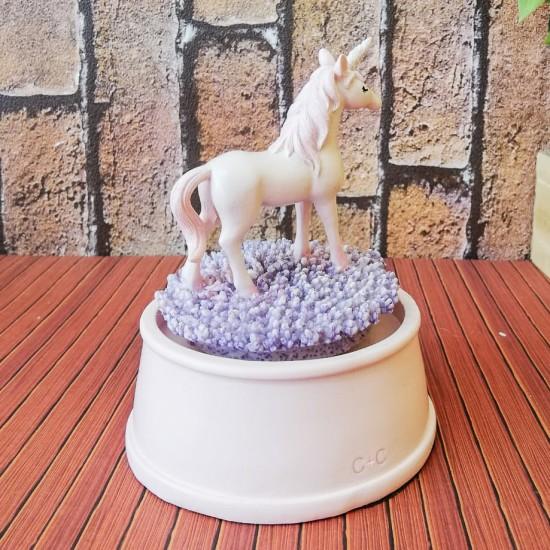 Unicorn Dekoratif  Müzik Kutusu