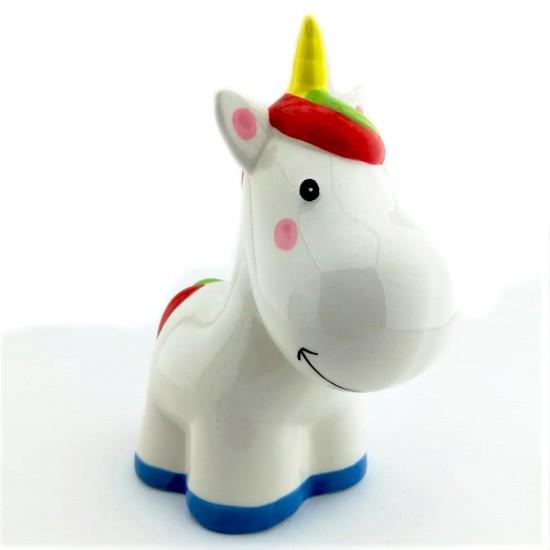 Unicorn Görünümlü Seramik Kumbara