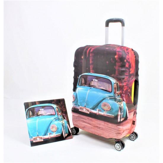 Vosvos Temalı My Luggage Valiz Kılıfı