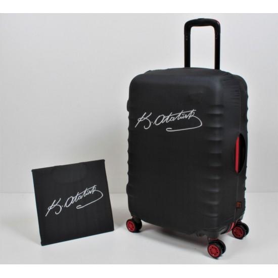 Kemal Atatürk İmzalı My Luggage Valiz Kılıfı