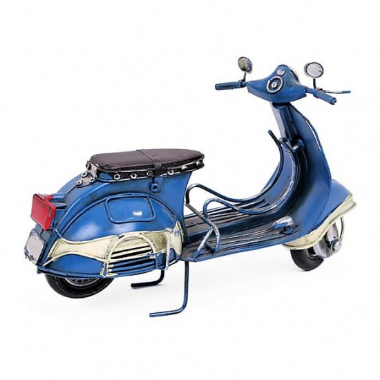 Vespa Metal Dekoratif scoter Mavi