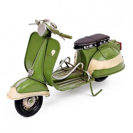 Vespa Metal Dekoratif scoter Yeşil