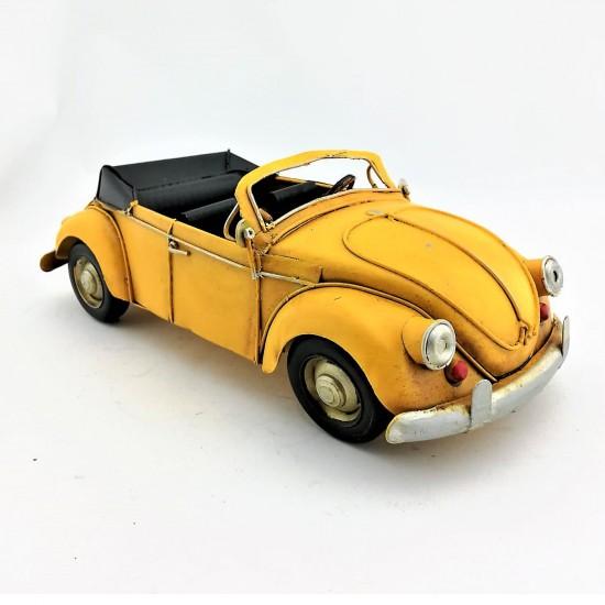 Nostaljik Metal Vosvos Sarı Spor Model