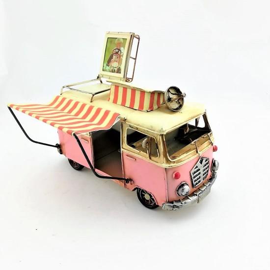 Tenteli Pembe Büfe Vosvos Minibüs Karavan